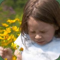 Sneezing Girl Allergies